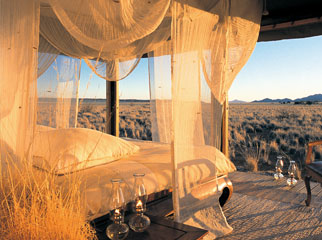 Under Canvas - the Wolwedans camps in the Namibrand Nature Reserve