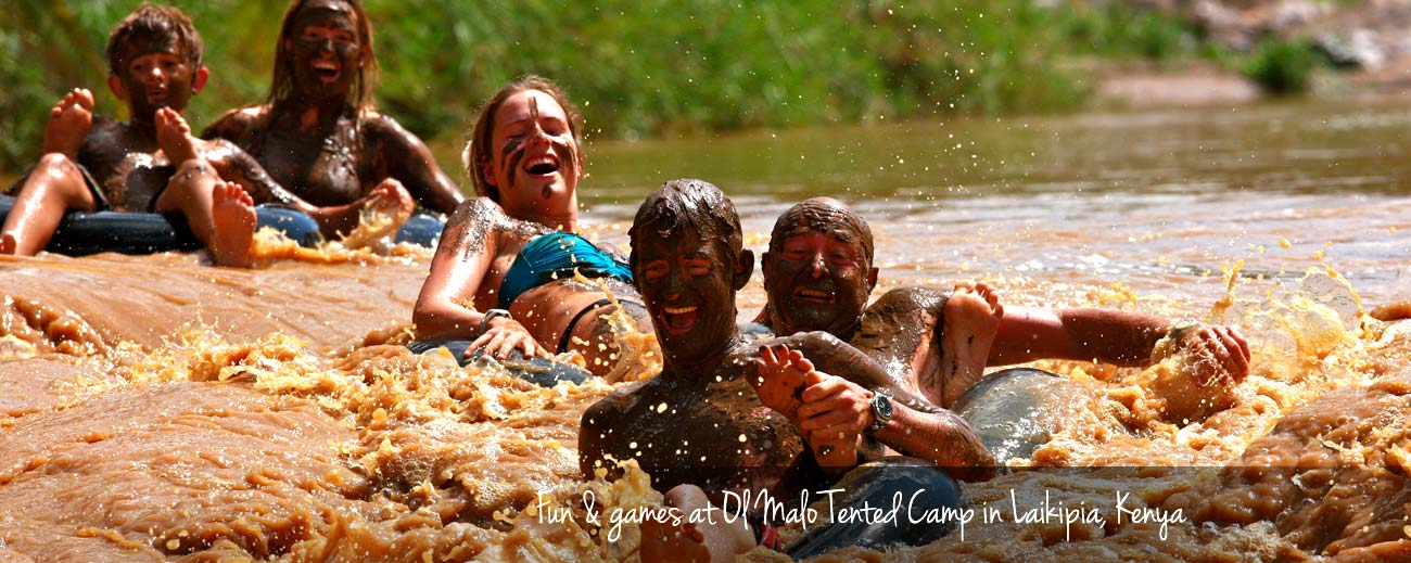 Teens in Africa - Thrills & spills at Ol Malo Lodge in northern Kenya