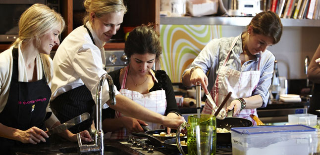 Teens in Africa - Many family lodges offer cooking classes or kitchen interaction for teens