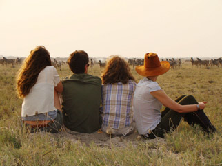 Teens in Africa - The drama of the Serengeti & Masai Mara unfolds