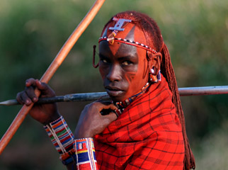 Where to Safari - authentic experiences with the Maasai can be had in the Kenya
