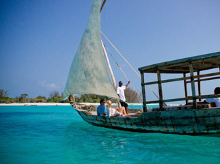 Where to Safari - drifting across the Indian Ocean in a dhow is part of the Zanzibar experience