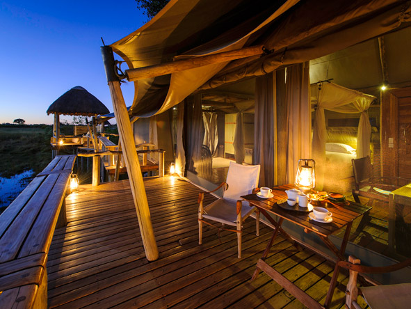 Luxury Botswana Wilderness Honeymoon - Mombo's massive suites