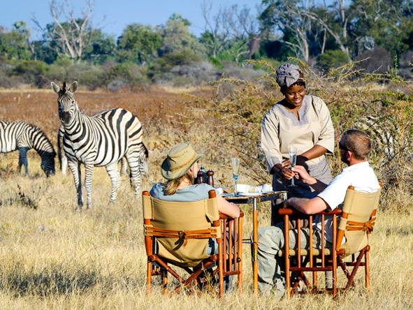 Luxury Botswana Wilderness Honeymoon - Upclose game viewing