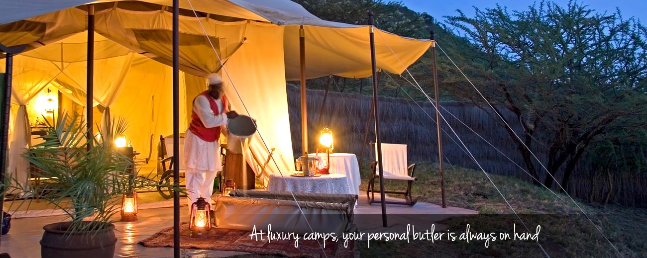 Africa Safari Guides - a dedicated butler on your luxury safari