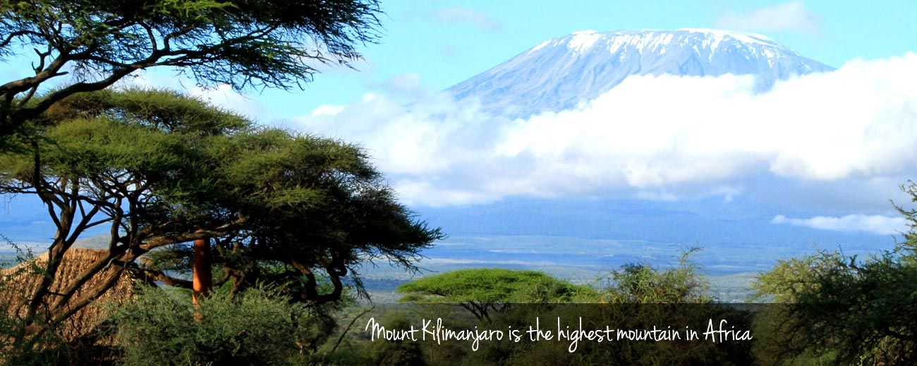 Climbing Kili - Mount Kilimanjaro is the highest mountain in Africa and can be viewed from afar