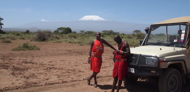Climbing Kili - Combine your Kili trek with an Amboseli safari