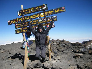 Climbing Kili - reaching the top is full of excitement and adrenalin!