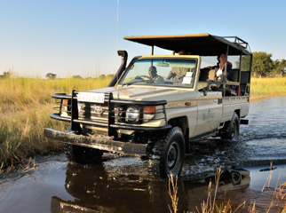Safari Vehicles - 4x4 vehicles need to be ready for all types of terrain