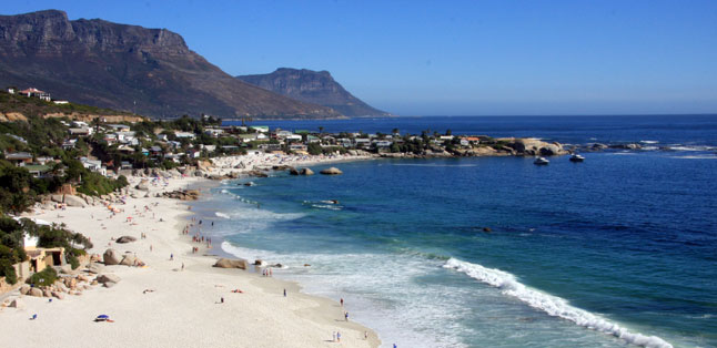 Visiting South Africa - Cape Town's beautiful beaches are ideal for a summer holiday