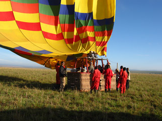 Top 10 Tours - For an unforgettable experience, try a hot air balloon flight over the Serengeti