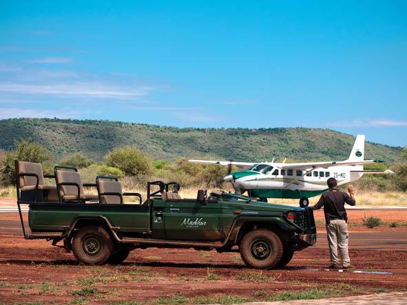 Madikwe - plane
