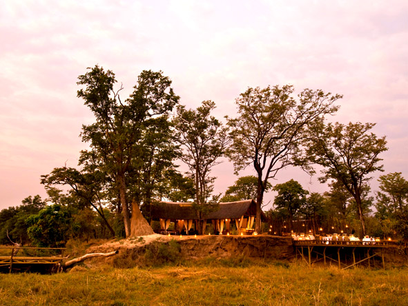 Zungulila Bush Camp - Remote location