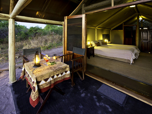 Vic Falls & Botswana Migration Safari - Tented accommodation