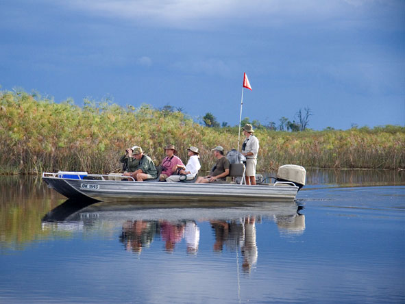 Great Botswana Wilderness Journey - Boat safaris
