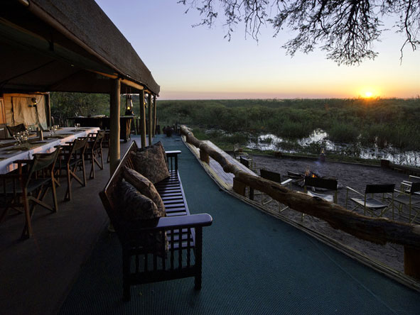 Great Botswana Wilderness Journey - Sundowner deck