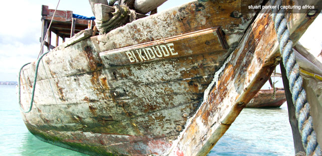Our trusty dhow was named after a famous Zanzibari singer.