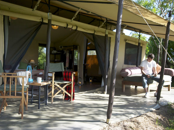 Encounter Mara - Spacious, comfortable tents