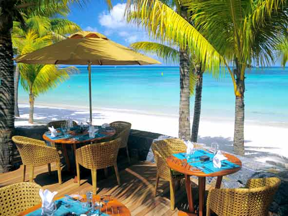 Trou aux Biches Hotel - Outdoor dining