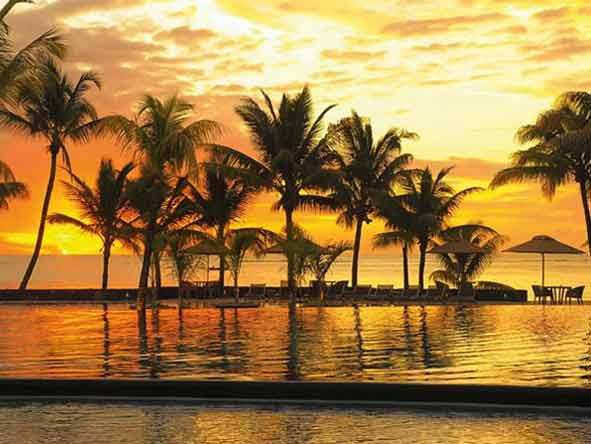 Trou aux Biches Hotel - Dazzling sunsets