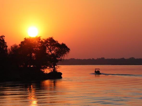 Beautiful Botswana & Vic Falls Romance - Sunset river cruises