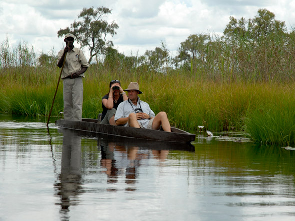 Beautiful Botswana & Vic Falls Romance - Mokoros in the Delta