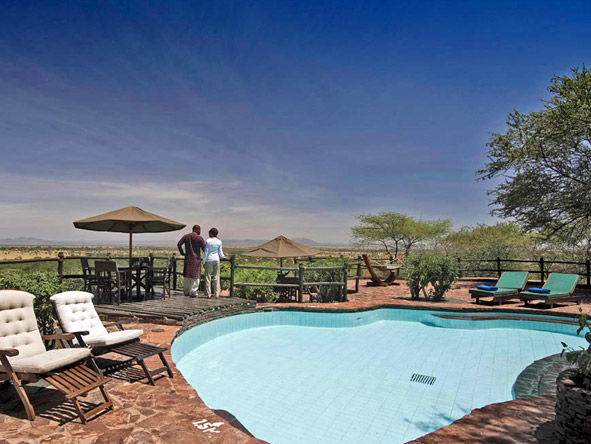 Kirawira Luxury Tented Camp - Swimming pool