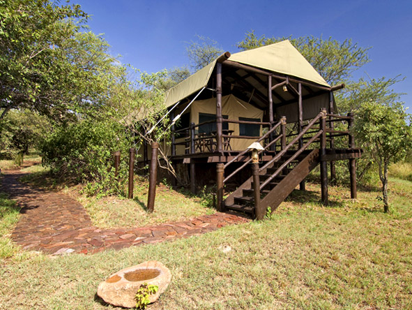 Kirawira Luxury Tented Camp - Tented suites