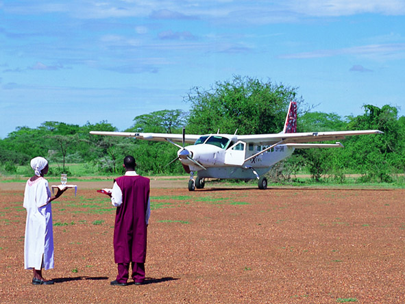 Kirawira Luxury Tented Camp - Fly-in arrivals
