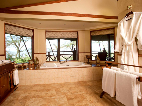 Lake Elmenteita Serena Camp - Flamingo Suites en suite