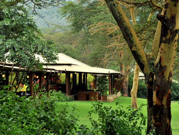 Lake Elmenteita Serena Camp - Unique setting