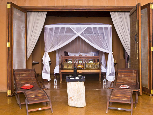 Okahirongo Elephant Lodge - Luxurious tents