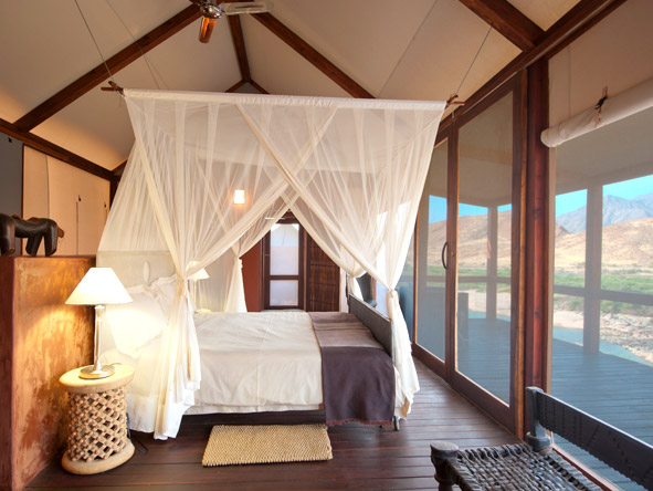 Okahirongo River Camp - Tented suites