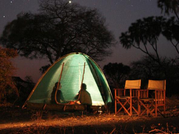 Siwandu - Fly-camping
