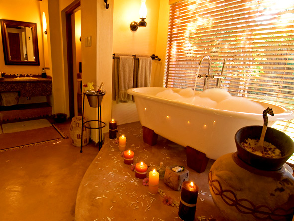 Chobe Chilwero - En suite bathrooms