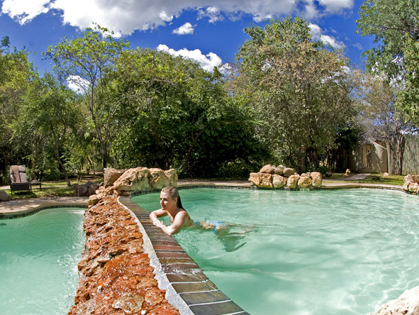 Chobe Chilwero - Swimming pool