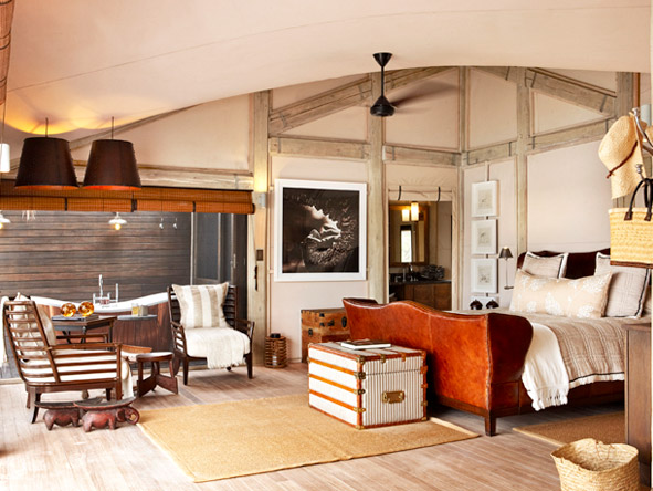 Abu Camp - Luxurious tented camp