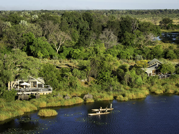 Abu Camp - Okavango Delta concession