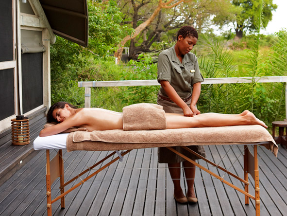 Abu Camp - Massage treatments