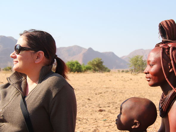 Anza Snyman - meeting the Himba