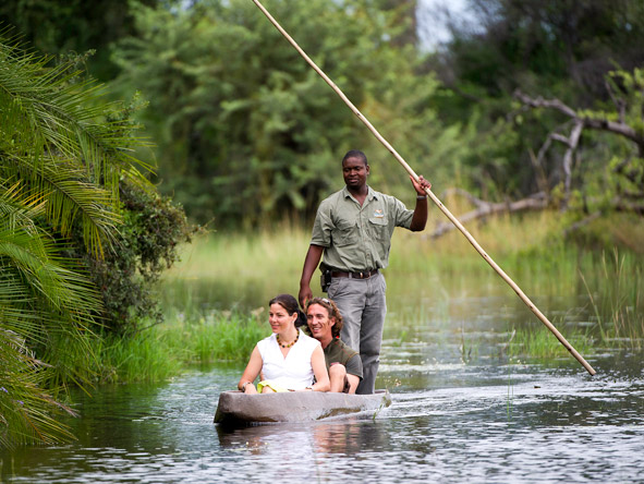 Thrilling Vic Falls & Botswana Safari - Mokoro safaris