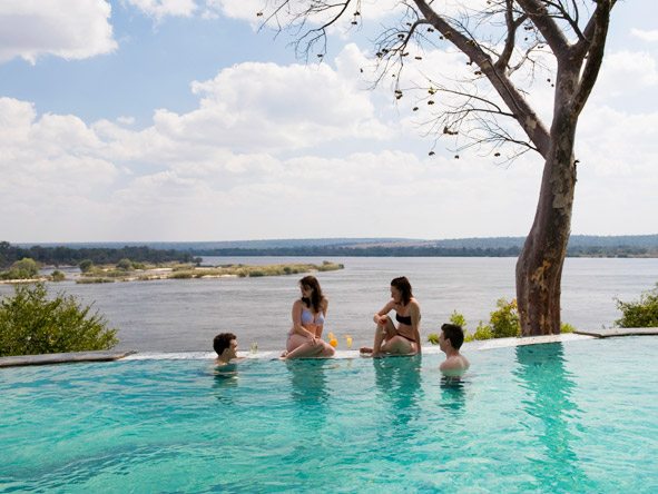 Thrilling Vic Falls & Botswana Safari - Swimming pool