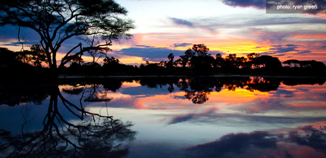 A Green Season Safari Guide - beautiful ice-cream sunset