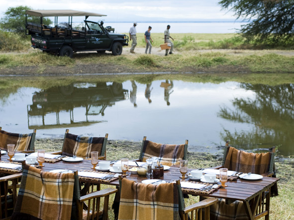 Luxury Gems of Tanzania - Bush dining