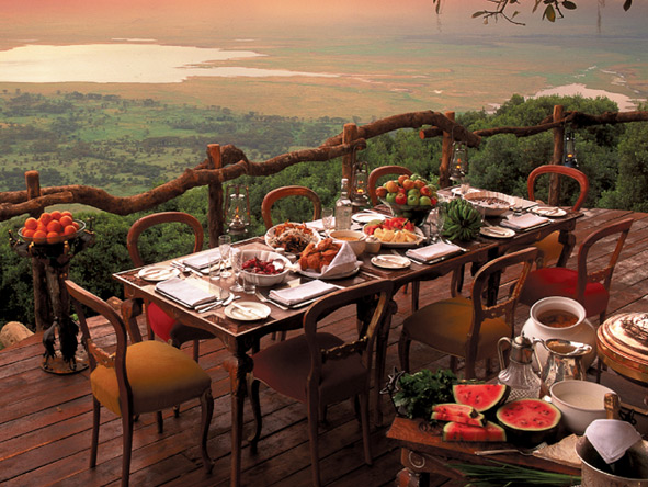 Luxury Gems of Tanzania - Alfresco dining