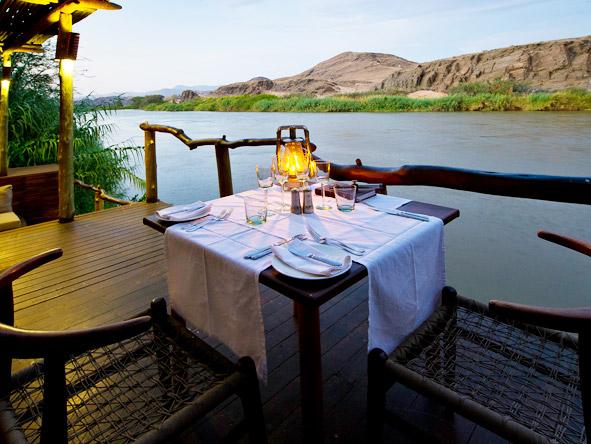 Serra Cafema Camp - Private dining