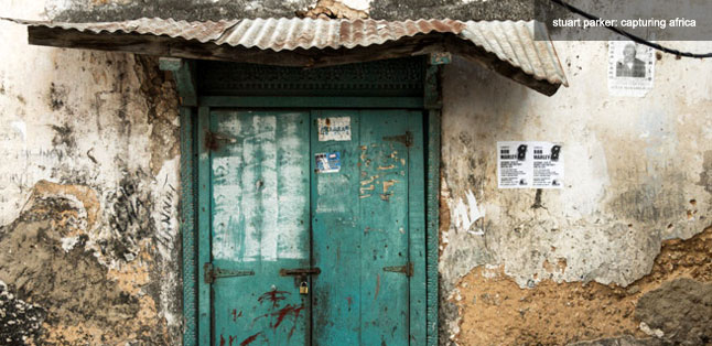 Explore Stone Town - green door