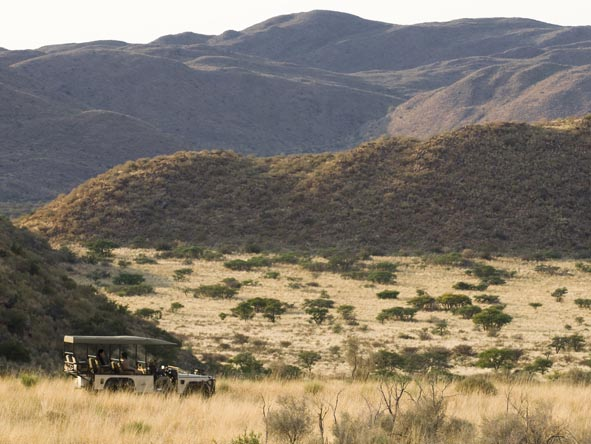 South Africa's Tswalu Reserve is a wild & beautiful corner of the Kalahari.