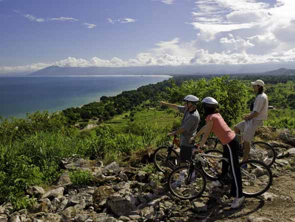 Mountain biking around Lake Malawi adds an exciting twist to a traditional beach holiday.