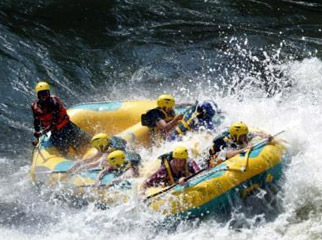 Victoria Falls is the perfect adrenalin hotspot for teens.
